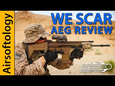WE SCAR AEG Review   Airsoft GI   Airsoftology