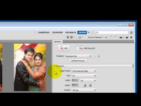 0 Photoshop Hindi Tutorials, episode 40, PDF slide shows