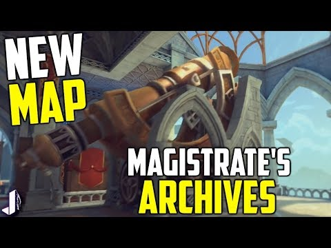 PALADINS NEW MAP REVEALED! MAGISTRATE'S ARCHIVES (Trailer & Breakdown)