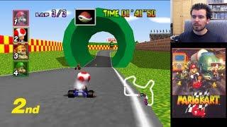 MARIO KART 64 (Nintendo 64) || Domingos con Slobulus 56 || Gameplay Español