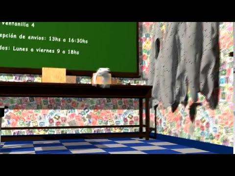 María Elena Walsh -  Canción del Correo (3D)