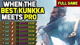 OMG! Even Nerfs can't stop him - !Attacker Kunkka 16 min GG vs Ramzes SF
