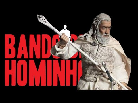 Bando de Hominho - LOTR Gandalf The White by Asmus Toys