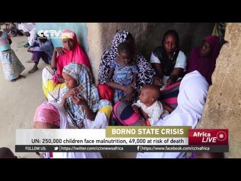 250,000 children face malnutrition, 49,000 at risk of death, UN warns