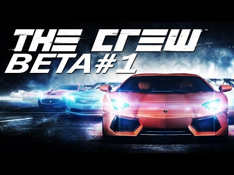 The Crew - Beta-Gameplay #1 - Let's Play The Crew PC