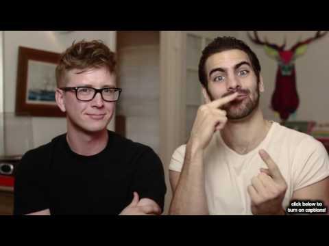 Ligando en el lenguaje de la señas ft  Nyle DiMarco   Tyler Oakley thumbnail