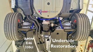 BMW E46 330ci - Underside Restoration - Better Than New!