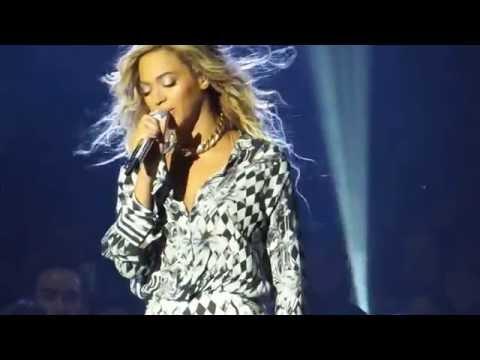 Beyonce - cries singing Heaven Live 2014 HD