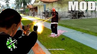 GTA IV San Andreas BETA 3 - Gameplay With Dual Wielding [MOD]