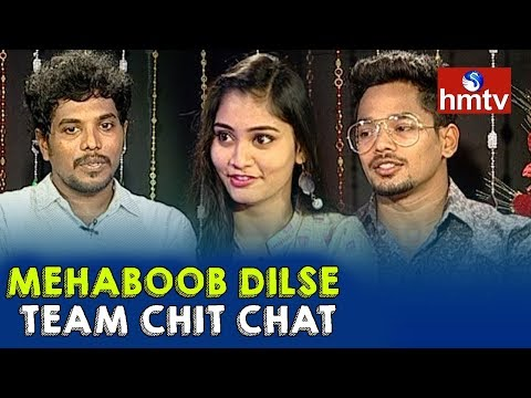 Mehboob Dil Se Team Chit Chat | Mehboob | Chandini | Telugu News | hmtv