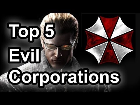 Top 5 - Evil corporations in gaming
