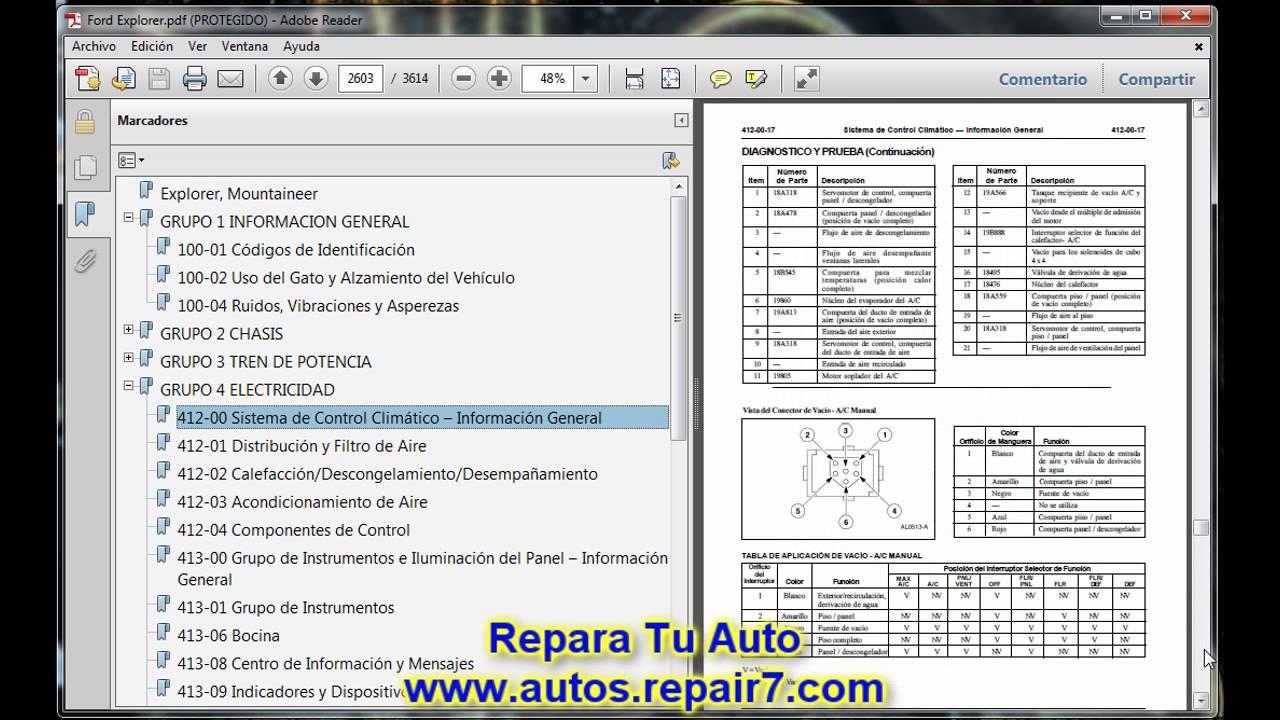 ford explorer reparacion  mecanica de autos repair