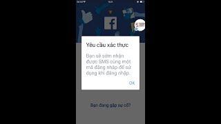 Mở thành công lỗi Facebook bắt xác nhận tin nhắn SMS qua điện thoại
