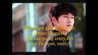 SONG JOONG KI - REALLY WITH SIMPLE ROMANIZATION LYRICS + ENG TRANSLATION)