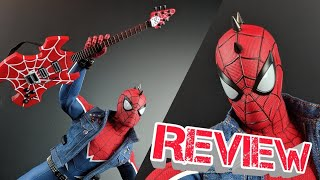 Hot Toys Spider Punk Spiderman PS4 Figure Review