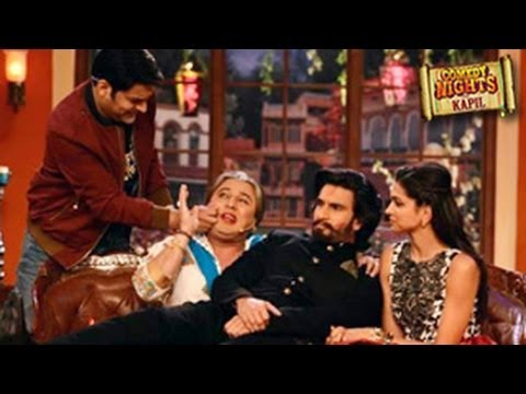 Deepika Padukone and Ranveer Singh On COMEDY NIGHTS WITH KAPIL 10th November 2013 Episode