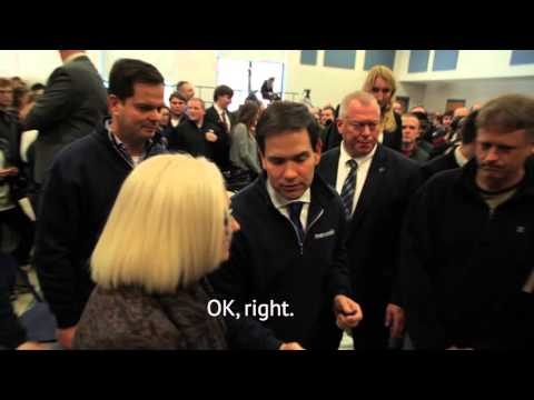 Maribel Confronts Marco Rubio in Spanish on Cimate Change