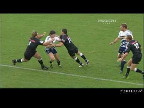 Sharks v Stormers - Super Rugby - Rd7 - Schalk Burger try - 2011