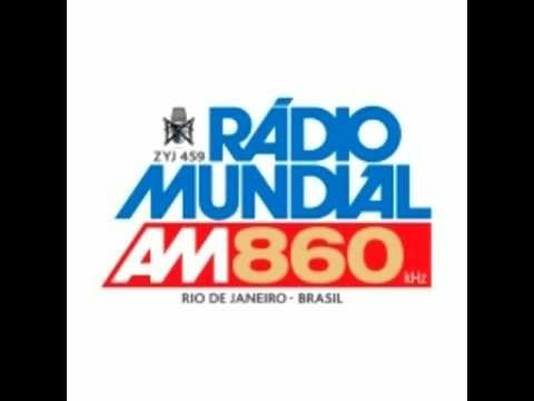 Rádio Mundial AM 860 - Som dos Bailes - Tony Garcia (Feat. Reinald-O) - Take It From My Heart