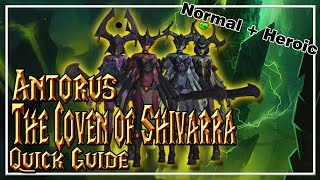 The Coven of Shivarra│Antorus, The Burning Throne│QUICK GUIDE (Normal & Heroic)