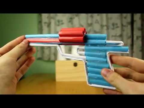 Make a paper gun
