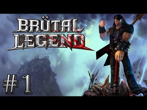 Brutal Legend :  Bienvenue en Enfer ! | Episode 1 - Let's Play