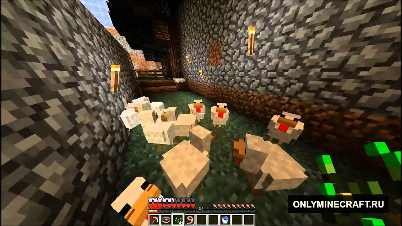 Minecraft как из яйца сделать курицу