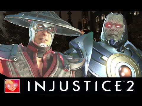 Injustice 2 - Raiden Vs the Gods All Intro Dialogues