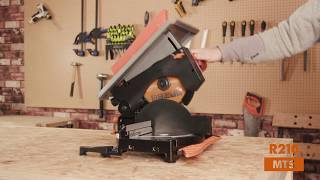 Evolution Power Tools R210MTS - 210mm TCT Multi-Material Cutting Mitre/Table Saw