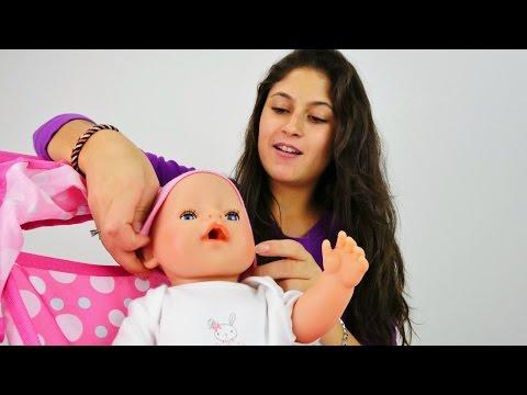 Oyuncak bebek giydirme ve bakım oyunu