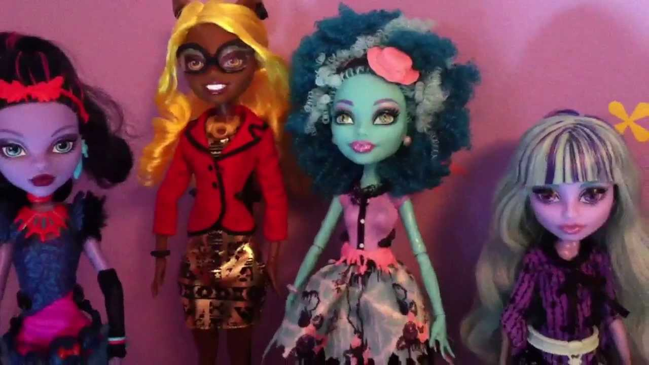 Collection Dolls Monster High Monster High Doll Collection