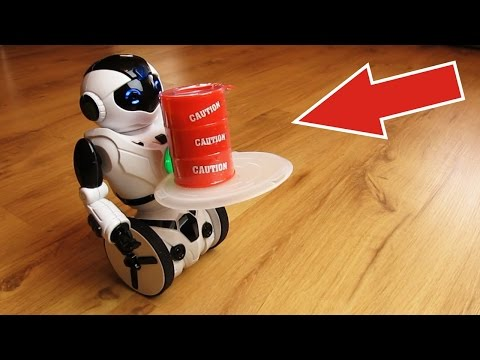 Умный балансирующий робот! Заставляю его возить бочки слизи, апельсины и помидоры!