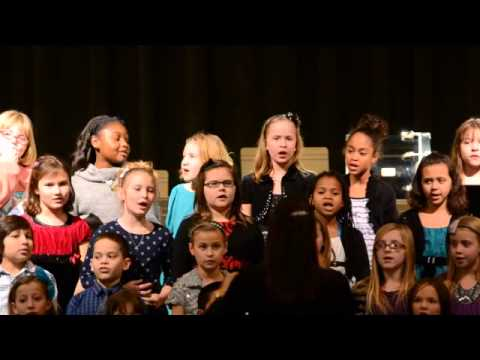 "Constellation Schools present...""A Winter Spectacular""-- 3-4 grade choir"