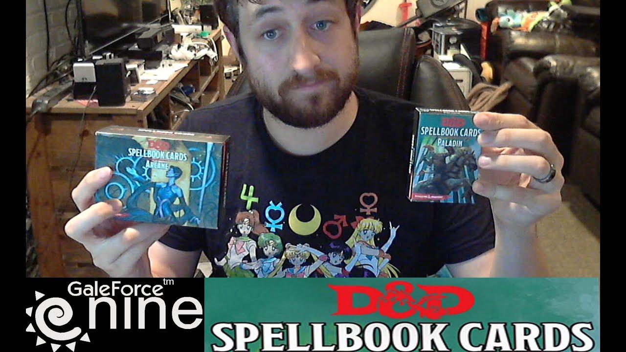 Spell Cards D&d 5e Gale Force Nine D&d 5e