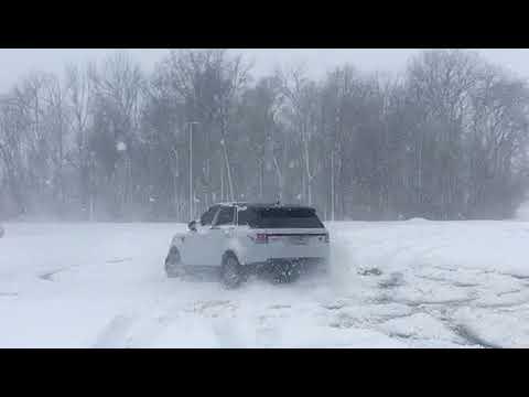 Range Rover drift
