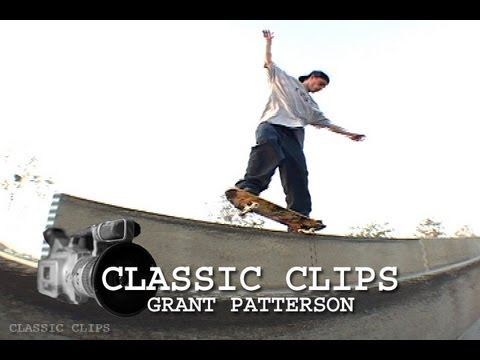 Grant Patterson Skateboarding Classic Clips #60 Canadian