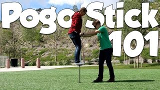 How to Jump on a Pogo Stick | Vurtego Pogo Beginner Tutorial