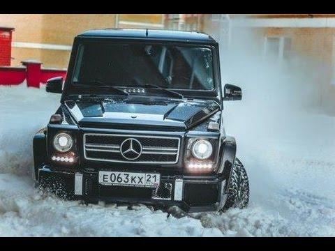 Mercedes-Benz G 55 AMG (500 л.с.)Тест-драйв.Anton Avtoman. - YouTube