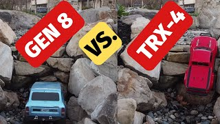 Traxxas TRX4 vs. Redcat Gen 8 - best rc crawler?