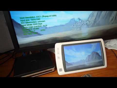 SmartQ V7 FullHD Video Test