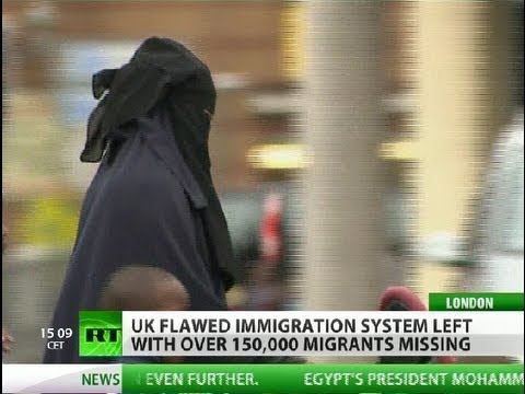 Ghostbusters: UK to crack down on 'missing' migrants