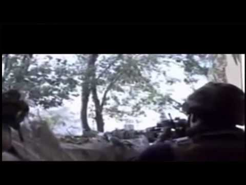Russian troops Battle of Donetsk Airport terrorists told the BBC Russian officers are