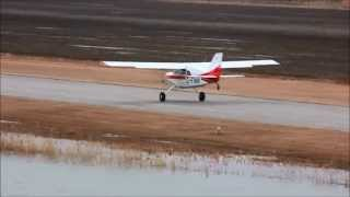 [HD] Maule M-7-235C Orion Takeoff And Touch And Go CSU3