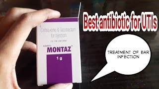 Montaz injection_1gm/500mg/250mg🌍use,side effect/Ep27_19122018,treatment of uti,treatment of rti