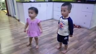 Bước nhảy hoàn vũ nhí - Bống bống bang bang :)