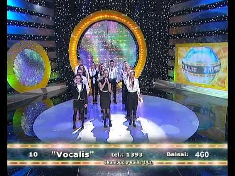 """2011-12-30 - """"Vocalis"""" @ 2 minutės šlovės"""