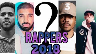 Top 5 Great #Rappers In The World of 2018[Best Rappers]