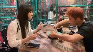 Trấn Thành chửi Hariwon xối xả vì giành ăn với Gin Tuấn Kiệt   A Mà Kitchen