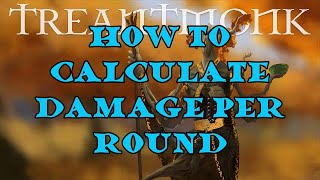 How To Calculate Average Damage Per Round