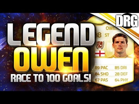 LEGEND MICHAEL OWEN!! - RACE TO 100 GOALS #1
